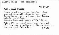 Franz Liszt in seinen Briefen