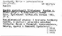 Zprávy Společnosti Vítězslava Nováka 4