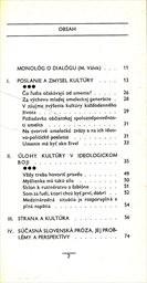 O kulture a kulturnosti s Miroslavom Válkom