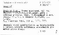 Staletá Praha                         ([Sv.] 14,)