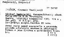 Kšištof Pendereckij