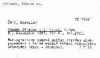 Johann Strauss a ti druzí