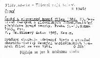 České a slovenské hrané filmy 1984
