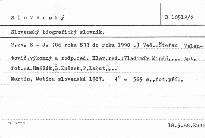 Slovenský biografický slovník                         (Zv. 2,)