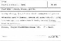 Josef Mžyk - obrazy, kresby, grafika