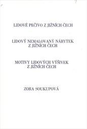 Lidové pečivo z jižních Čech