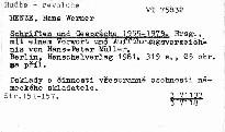 Schriften und Gespräche 1955-1979