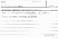 Pseudonym v záhlaví katalogizačného záznamu