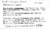 Die Lieder Schumanns