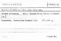 Univerzitná knižnica v Bratislave 1980-