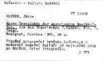 Kurze Geschichte der ungarischen Musikkultur