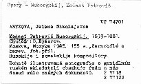 Modest Petrovic Musorgskij