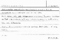 Bibliografie zahranicnich casopiseckych