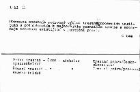 Československé trestni řízení