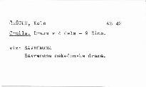 Savremena makedonska drama.
