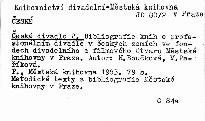 České divadlo 2
