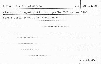 Mineralogicko-geologicka bibliografie cs