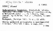 Scenographia Hungarica