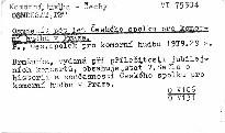 Osmdesát pět let Českého spolku pro komorní hudbu v Praze
