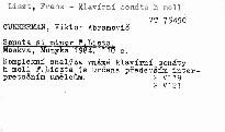 Sonata si minor F. Lista