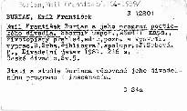 Emil František Burian a jeho program poetického divadla