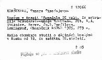 Kosťum v Rossii 18-načala 20 veka