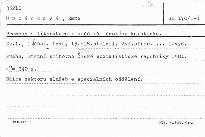 Prameny a literatura k počátkům českého knihtisku