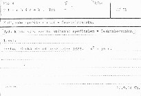K dějinám spořitelnictví v Československu