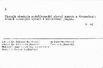 Bulharsko-český a česko-bulharský kapesní slovník