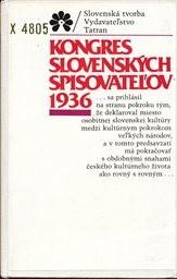 Kongres slovenskych spisovatelov 1936.