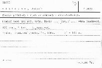 Sbírka příkladů a úloh ze základů elektrotechniky