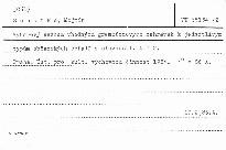 Výběrový seznam vhodných gramofonových desk