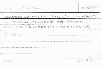 Bibliografie chráněných části přírody v ČSR za rok 1976-1978