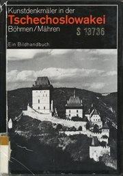 Kunstdenkmaler in der tschechoslowakei.