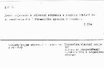 Evidence a rozbory nakladu v informacnim