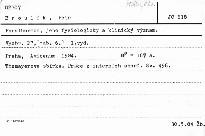 Parathormon, jeho fyziologicky a klinick