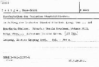 Kostbarkeiten der Deutschen Staatsbiblio