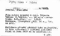 Film polski wczoraj i dziś