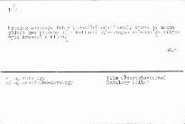 Katalog filmu filmoveho archivu ustavu p