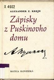 Zápisky z Puškinovho domu