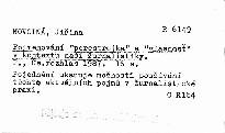 "Pojmenovani ""perestrojka"" a ""glasnost"" v"