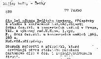 Sto let odkazu Bedřicha Smetany
