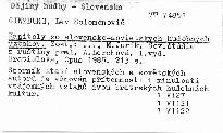 Kapitoly zo slovensko-sovietskych hudobných vzťahov
