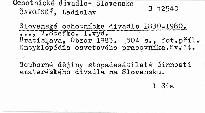 Slovenske ochotnicke divadlo 1830-1980