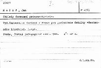 Základy forenzní pedopsychiatrie