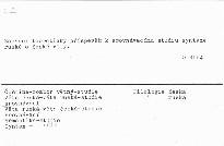 Sémantická struktura věty a kategorie pádu
