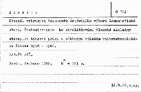 Sborník vybraných dokumentů Ústředního výboru