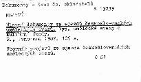 Hlavní dokumenty ze sjezdu československých uměleckých