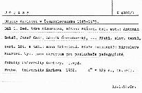 Dějiny školství v Československu 1945-19