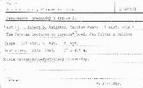 Feynmanove prednášky z fyziky                         (2)